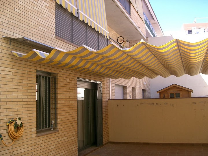 Toldo vainas para patio toldos avil s - Toldos para porches ...